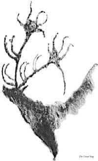 Gurdjieff saw The Great Stag at Lascaux, Atlantis, Fourth Way
